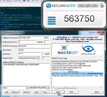 How To Test RADIUS Using NTRadPing – SecureAuth Support