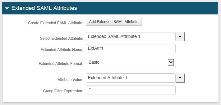 Using the Extended SAML Attributes Feature – SecureAuth Support
